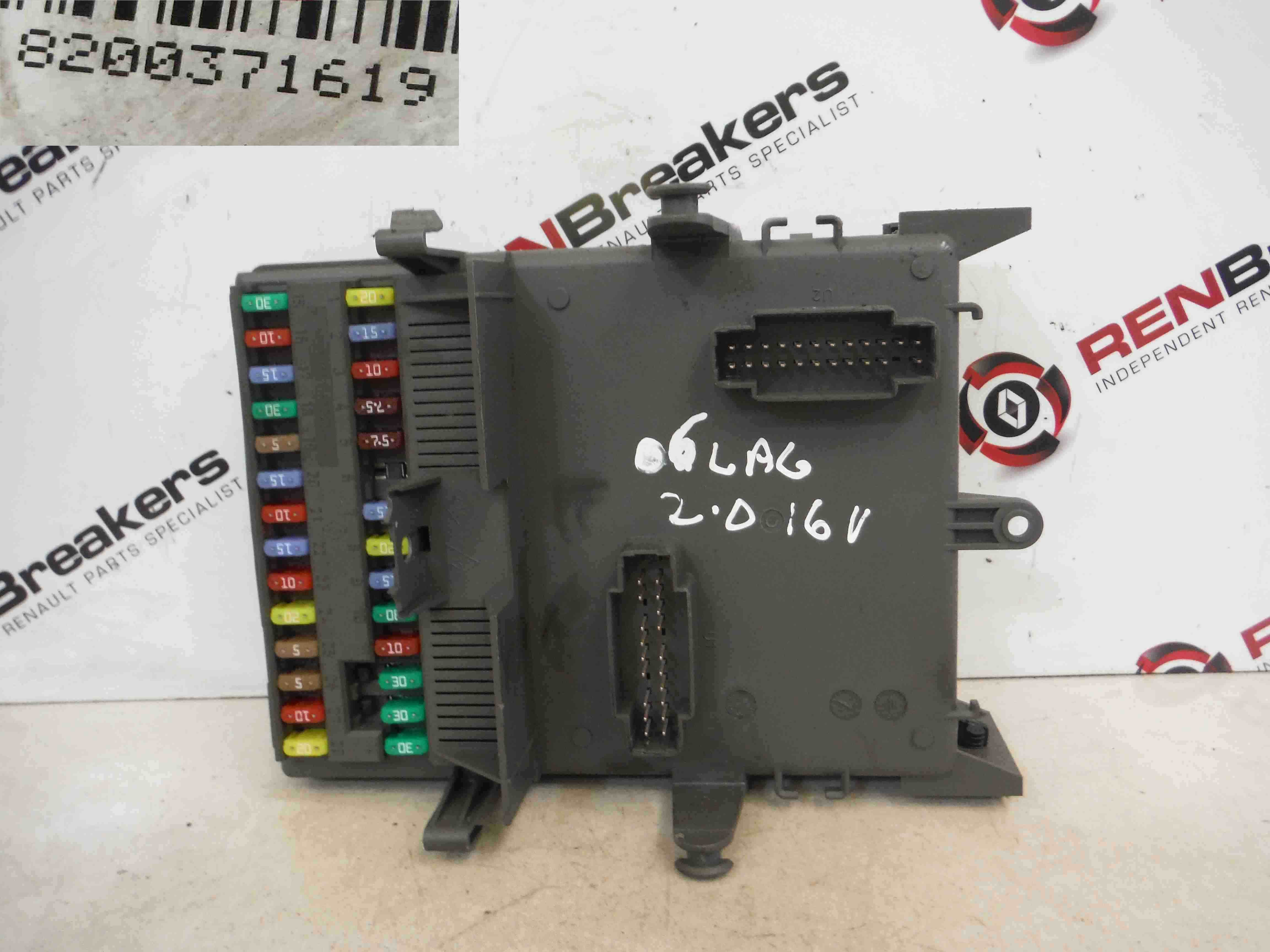 Renault Laguna 3 Fuse Box Great Design Of Wiring Diagram 1999 Megane Layout 2005 2007 Dashboard Relay Computer Location Initiale Paris