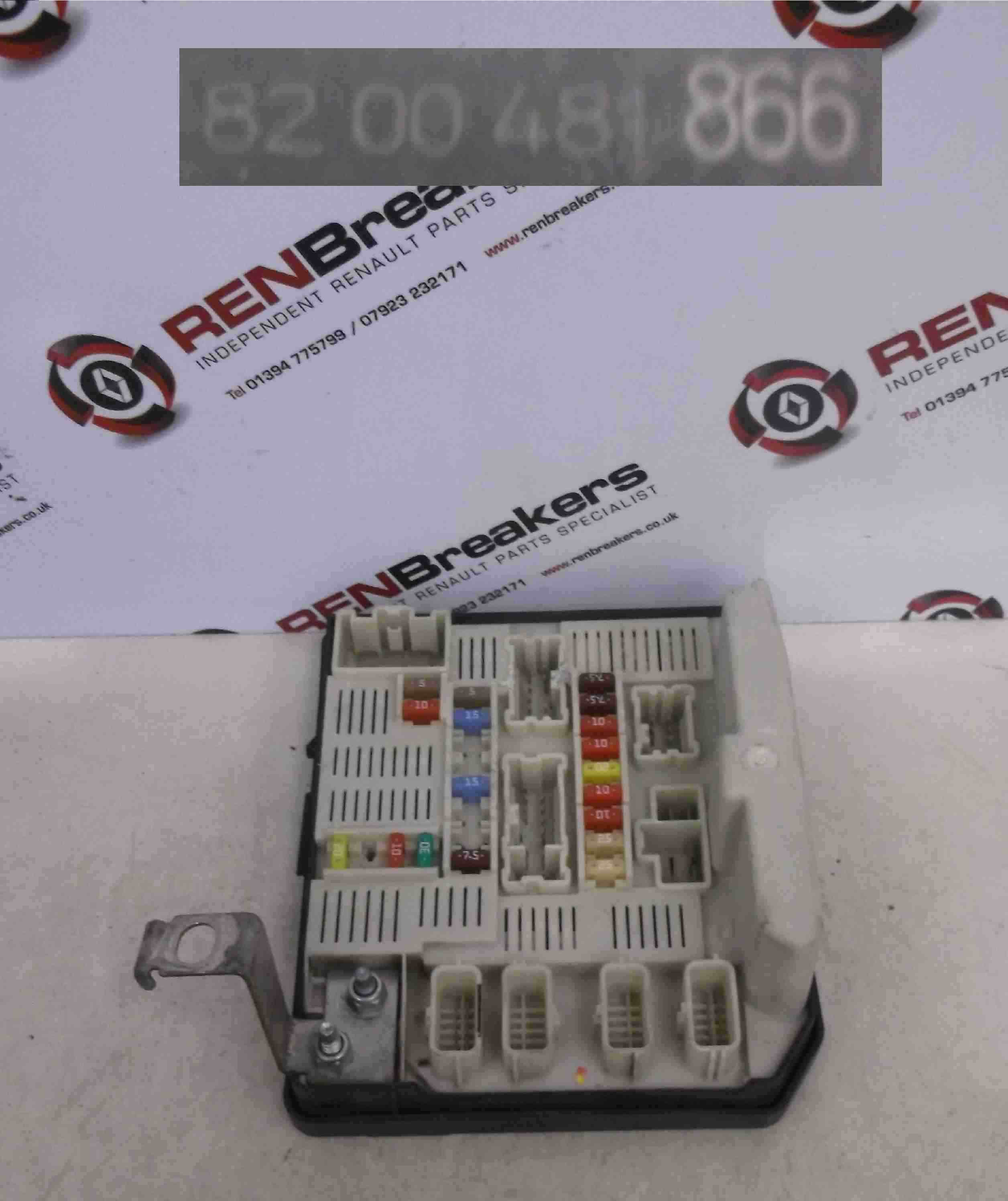Renault Megane 2005 Engine Bay Fuse Box : Renault megane scenic  engine bay upc unit fuse